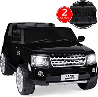 Best Choice Products 12V 3.7 MPH 2-Seater Licensed Land Rover Ride On w/ Parent Remote..