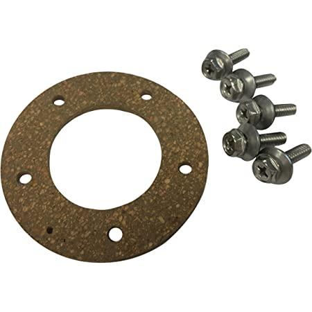 5 Hole Moeller Marine 035728-10 Gasket for Fuel Tank Sending Unit Electric and Mechanical