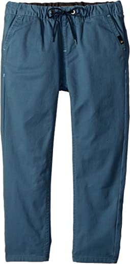 Quiksilver Kids Krandy Elasticated Pants (Toddler/Little Kids)