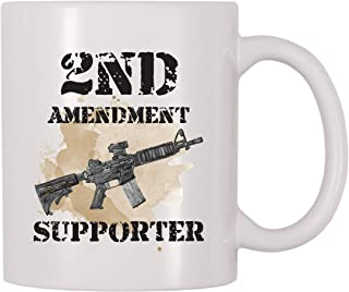 4 All Times 2nd Amendment Supporter Coffee Mug (11 oz)