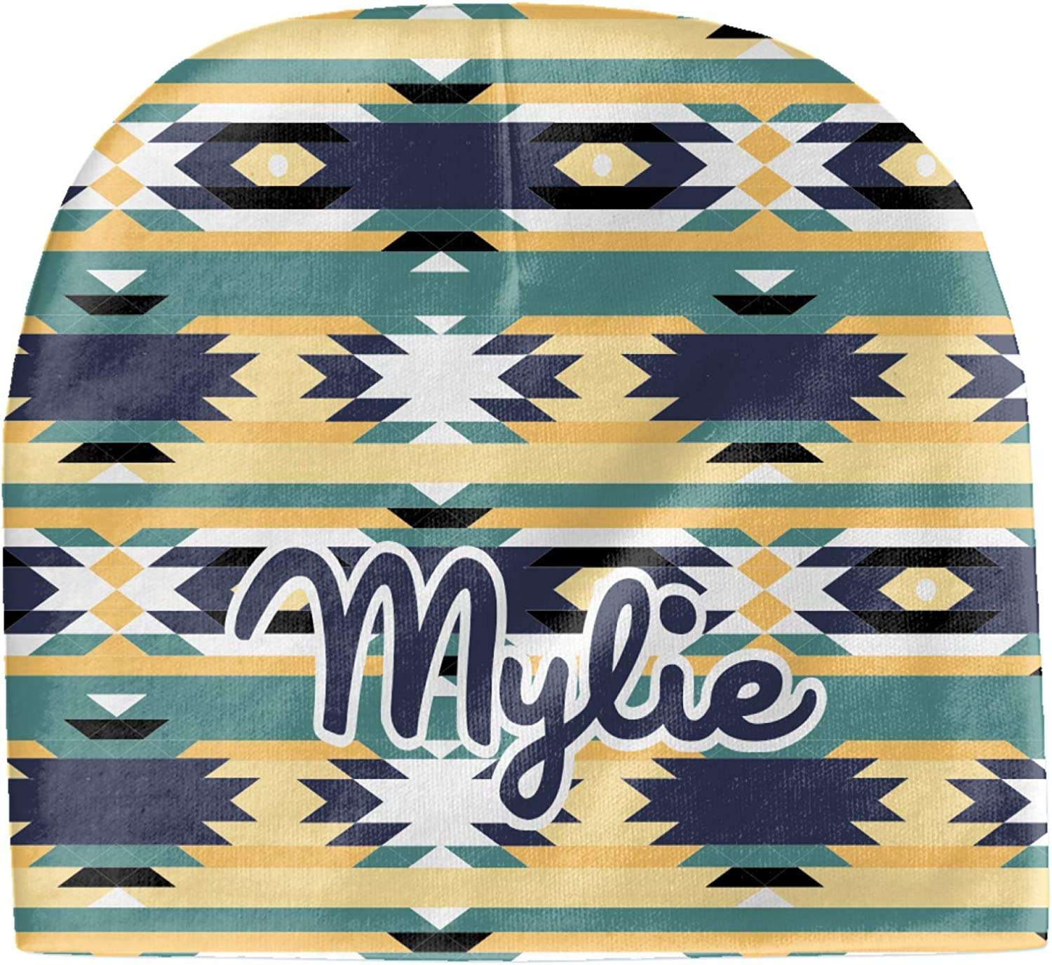 YouCustomizeIt Tribal2 Baby Hat Personalized Beanie OFFicial mail order Soldering Yellow