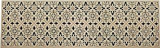 Vallila Polkka viscose runner 67x220 cm, white black, Cotton Blend, 220 x 1 x 67 cm