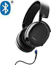 SteelSeries Arctis 3 Bluetooth (2019 Edition) Wired and Wireless Gaming Headset for Nintendo Switch, PC, Playstation 4, Xbox One, VR, Android and iOS - Black (Renewed)