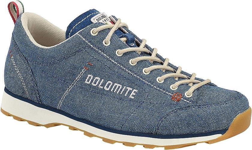 Dolomite Zapato cinquantaquattro lh toile ws denim bleu canapa beige 4 uk