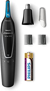 Philips Norelco Nose Hair Trimmer 3000, NT3000/49,...