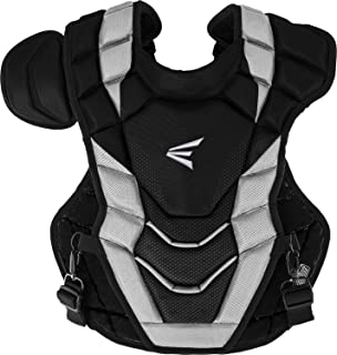 EASTON PRO X Baseball Catchers Chest Protector | 2020 | Double Layer Design + EVAIR Foam | 4 Point Strap System + Neoprene Back for Superior Fit & Comfort | NOCSAE Approved Commotio Cordis Foam
