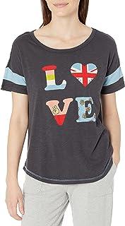PJ Salvage Women's Peace & Love S/S TOP