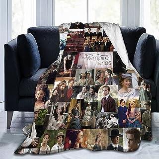 The Vam-Pire Diaries Blanket Ultra Soft Throw Blanket Flannel Fleece All Season Light Weight Living Room/Bedroom Warm Blan...