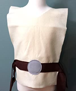 Baby Star Wars Jedi Costume Tunic - Perfect for under your Jedi Robe! (Luke Skywalker/Obi Wan Kenobi) - Baby/Toddler/Kids/Teen/Adult Sizes