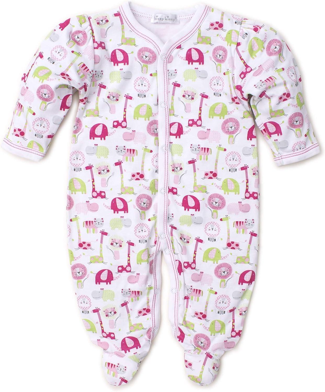 Kissy Kissy Baby-Girls Infant Jazzy Jungle Print Footie