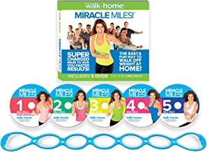 Leslie Sansone: Miracle Miles 5 DVD Set featuring Free Super-Sculpting Chain Link Band