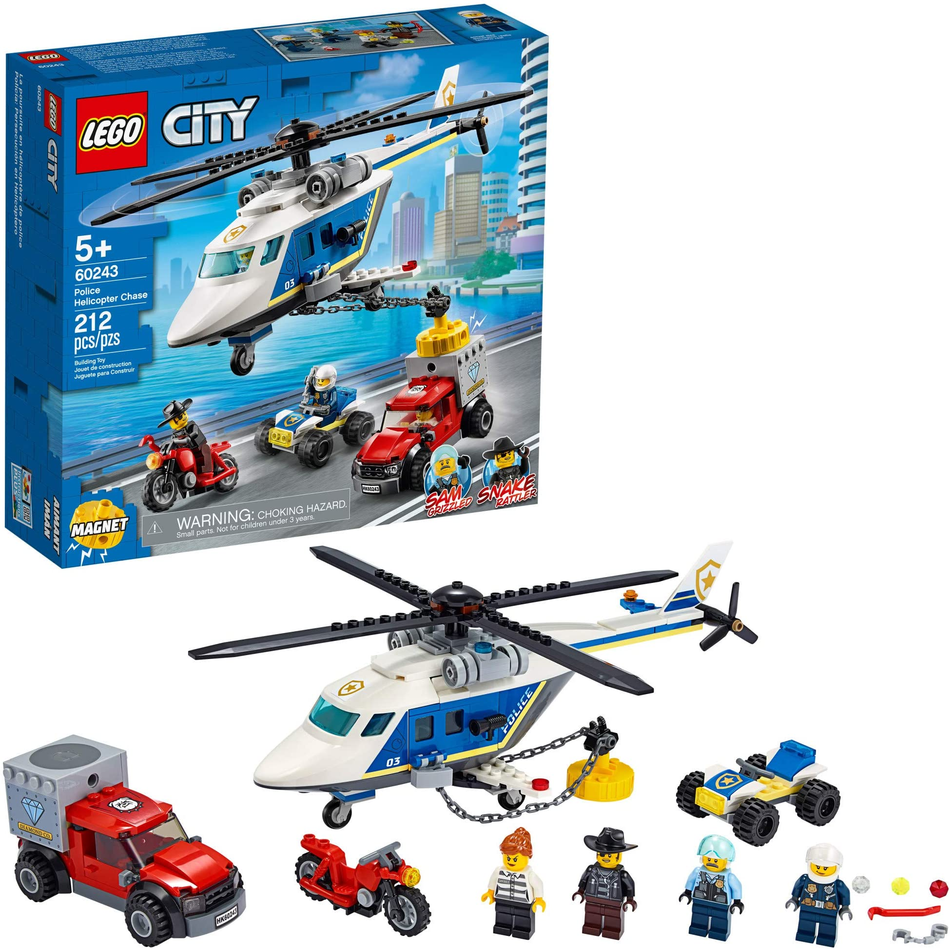 Officer Female Pilot With Helmet NEUF NEW LEGO City Minifigure CTY832 Police