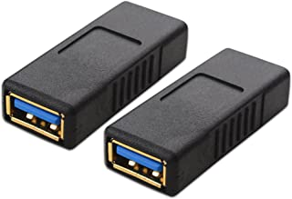 Cable Matters 2-Pack USB 3.0 Coupler USB Female to Female Adapter Gender Changer