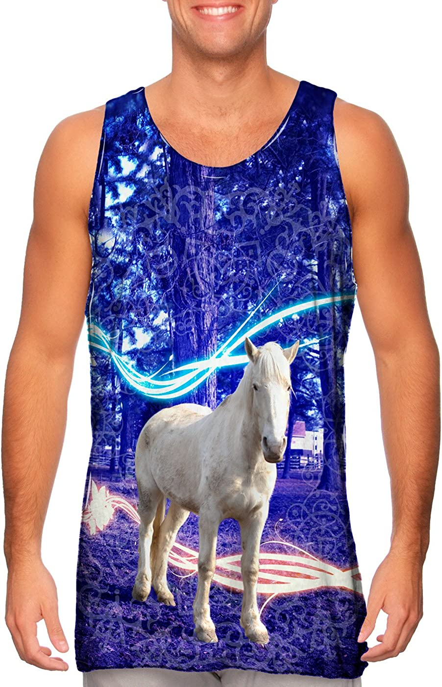 Yizzam AnimalShirtsUSA- Max 66% OFF Fairy Horse Mens -Tshirt- Top Ranking integrated 1st place Tank