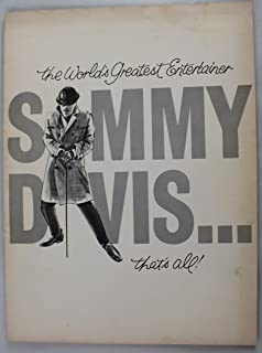 The World's Greatest Entertainer SAMMY DAVIS... That's All!
