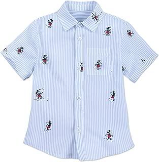 mickey button shirt