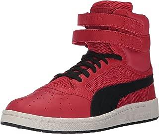 Men's Sky II Hi Color Blocked Lthr Sneaker