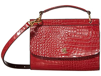LAUREN Ralph Lauren Top-Handle Belt Bag Medium (Red) Bags