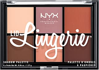 NYX PROFESSIONAL MAKEUP Lid Lingerie Shadow Palette, 0.28 Ounce