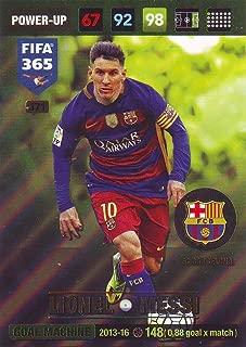 Panini FIFA 365 Adrenalyn XL 2017 Lionel Messi Goal Machine Trading Card