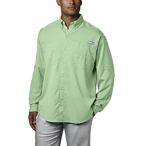 711e8cae175 Columbia Men's PFG Tamiami II Long Sleeve Shirt, UPF 40 Sun Protection,  Wicking Fabric