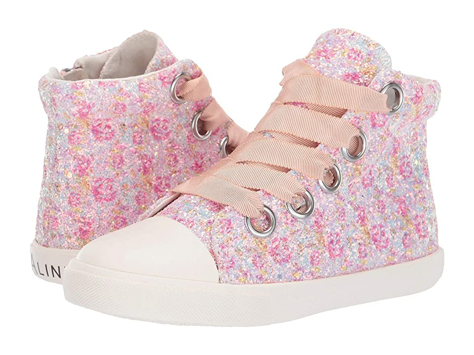Amiana 6-A0920 (Toddler/Little Kid/Big Kid/Adult) (Pink Floral Glitter) Girl