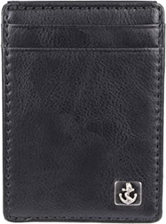 Dockers 2019 Mens Men's Vermont Rfid Blocking Magnetic Front Pocket Wallet, 9 cm