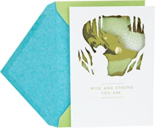 Hallmark Father's Day Greeting Card (Star Wars Yoda Wise and Strong)
