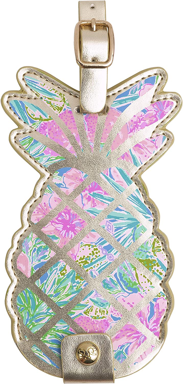 Lilly Pulitzer Shaped Many popular Outlet sale feature brands Luggage Tag