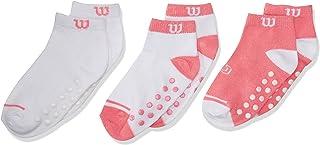 Wilson 8216 Calcetines para Bebé-Niñas, Multicolor, Talla Única (Paquete de  3 Piezas)
