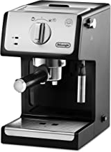 De'longhi ECP33.21 - Cafetera espresso, 1100w, capacidad 1,1l, café molido y monodosis, negro y plata