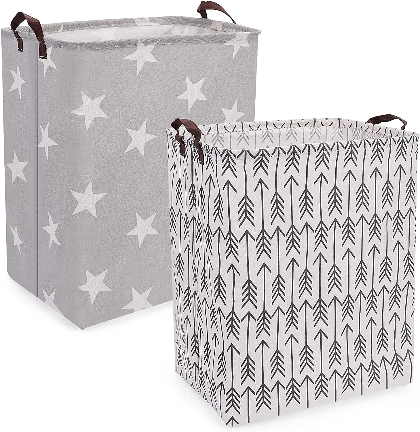 Seebel 2PK Square Laundry Louisville-Jefferson County Mall Basket Collapsible Fabric Milwaukee Mall Organ Canvas