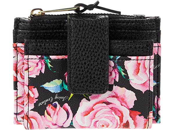 Juicy Couture On The Right Track Tab Card Case