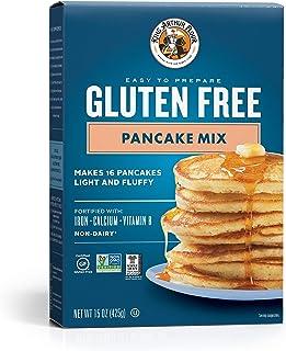 King Arthur Flour KING ARTHUR FLOUR Gluten Free Pancake Mix, 15 Ounce (Pack of 6)