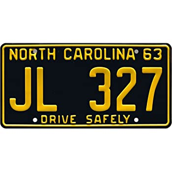 The Andy Griffith Show Metal Stamped License Plate JL 327