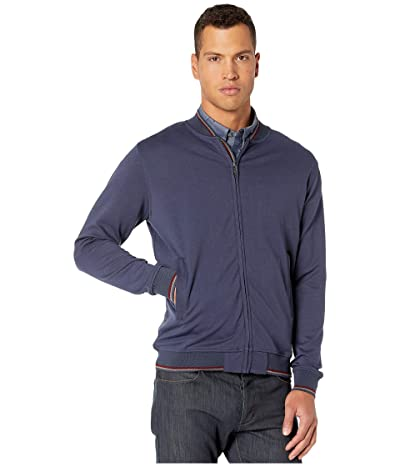 Ben Sherman Tipped Scuba Bomber Jacket (Navy) Men