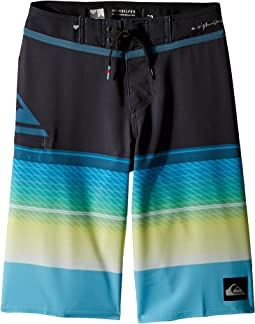 Quiksilver Kids - Highline Slab Boardshorts (Big Kids)