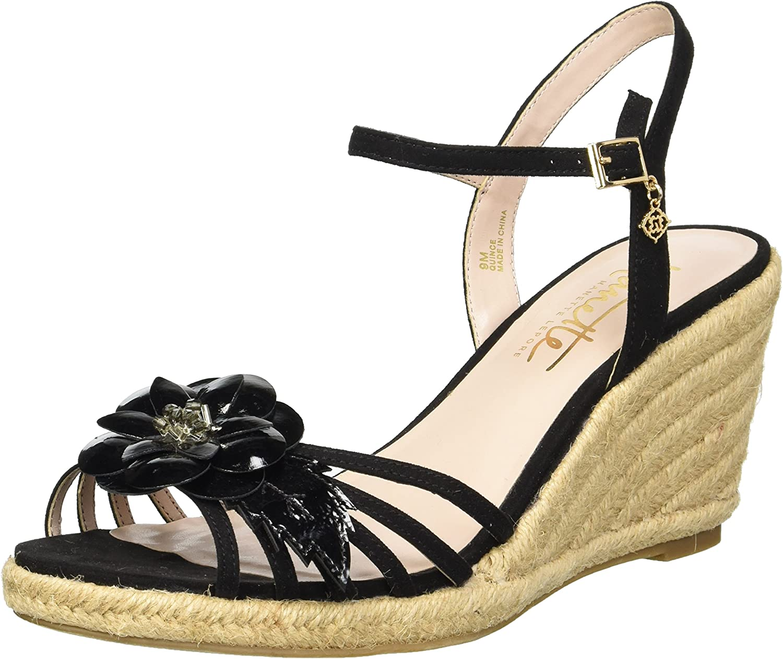 Nanette Lepore Womens Quince Wedge Sandal