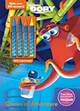 Disney Pixar Finding Dory Color & Activity Crayons, (Pack of 3)