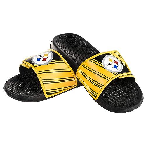 554922260cdac FOCO NFL Mens Legacy Sport Shower Slide Sandals