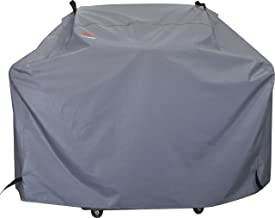 BroilPro Accessories Gas Grill Cover, Barbeque Grill Covers Weber, Holland, Jenn Air, Brinkman, Char Broil, Medium