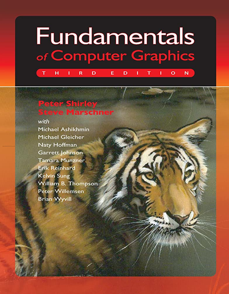 構想する気質可動Fundamentals of Computer Graphics (English Edition)