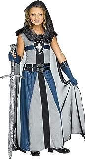 Girl's Knight Costume Child Warrior Costume