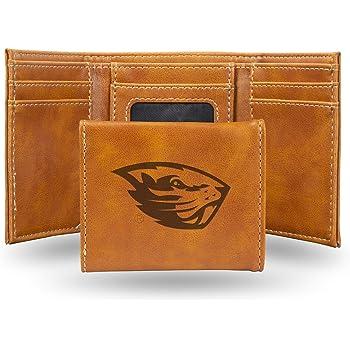 NCAA Rico Industries  Laser Engraved Billfold Wallet Oregon State Beavers