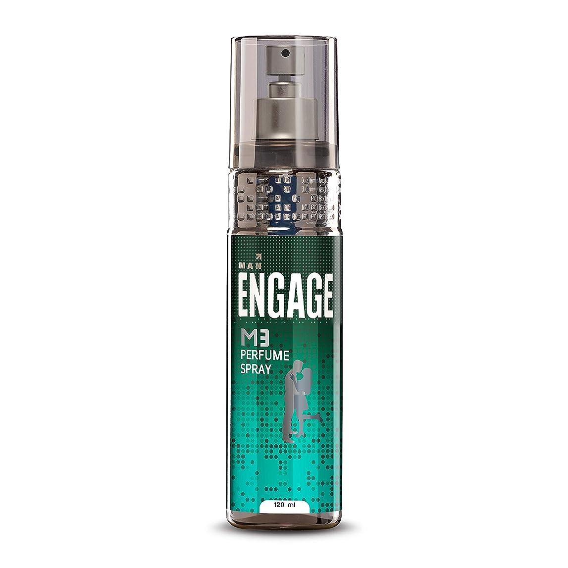 ウイルス噂複雑Engage M3 Perfume Spray For Men, 120ml