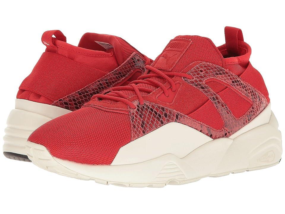 PUMA B.O.G Sock Snake (High Risk Red/Puma White) Men's Shoes
