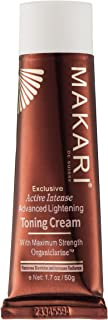 Makari Exclusive Facial Toning FACE CREAM 1.7oz – Lightening Lotion with Organiclarine – Advanced Whitening & Toning Treatment for Dark Spots, Acne Scars, Sun Patches, Freckles & Hyperpigmentation