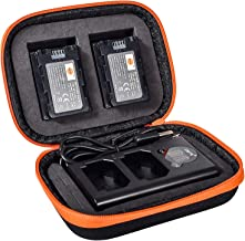 DSTE NP-FZ100 Replacement Battery (2 Pack) and LED Dual Charger Kit Compatible with Sony Alpha 9, 9R, ILCE-9, ILCE-7RM3, α...