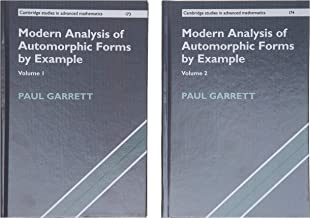Modern Analysis of Automorphic Forms By Example 2 Hardback Book Set (Cambridge Studies in Advanced Mathematics)