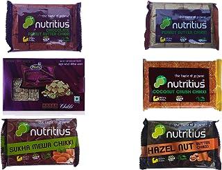 Nutritius Super Six Chikki Set (Pack of 6) - Regular Pack